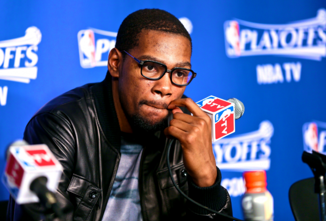 STAND UP GUY: Kevin Durant donates $1M to Red Cross for tornado relief