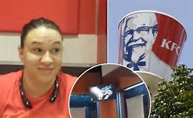 Oklahoma KFC plays porn on dining area TV in front of shocked patrons