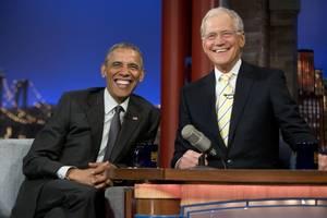 President on Letterman