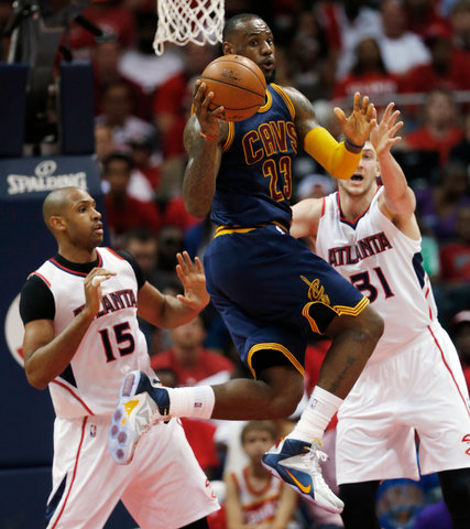 Cavaliers, behind 'Great Guy' J. R. Smith, Grab Lead Over Hawks