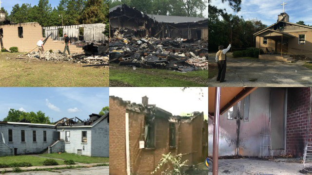 As black churches burn concern grows over the resurgence of America's original terrorists